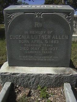 Eugenia <i>Lutner</i> Allen
