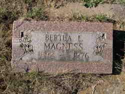 Bertha E Magness