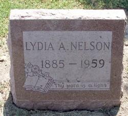 Lydia Ann Myers <i>Kirk</i> Nelson