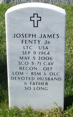 LTC Joseph James Fenty