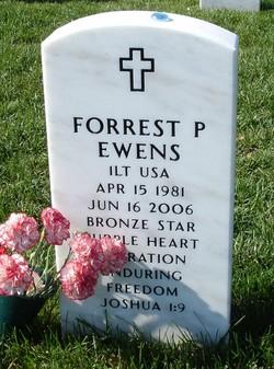 Lieut Forrest P. Ewens