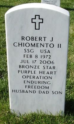 Sgt Robert Joseph Chiomento, II
