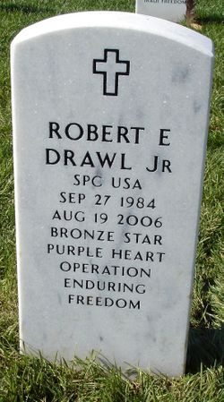 Spec Robert E. Drawl, Jr