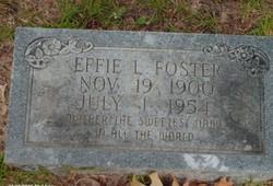 Effie Irene <i>Lawrence</i> Foster