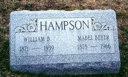 Mabel <i>Beyer</i> Hampson