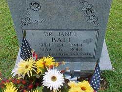 Dr Janet Bali