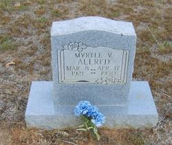 Myrtle V. Allred
