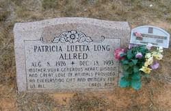 Patricia Luette <i>Long</i> Allred