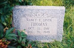 Nancy Elizabeth <i>Irvin</i> Thomas
