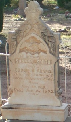 Susannah Susann <i>Smith</i> Adams