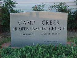 Camp Creek Primitive Baptist Church Cemetery