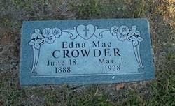 Edna Mae <i>Taylor</i> Crowder