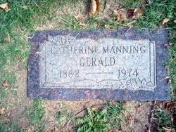 Catherine <i>Manning</i> Gerald