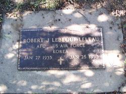 Robert J Lebeouf-Leleau