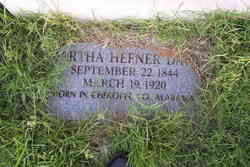 Martha <i>Hefner</i> Davis