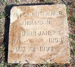 Elizabeth Esther <i>Bence</i> Thompson
