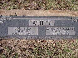 David Crockett Whitt