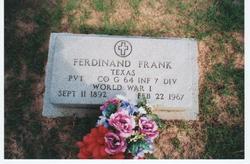 Ferdinand William Frank