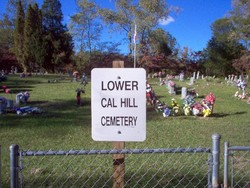 Lower Cal Hill Cemetery