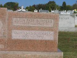 Rev William Holmes Borders, Sr