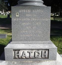 Abram Chase Hatch