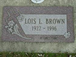 Lois Lucille <i>McDonald</i> Brown