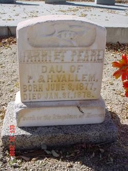 Harriet Pearl Vallem