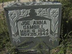 Joe Anna <i>Jones</i> Gambill