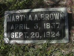 Mrs Martha Ann Mattie Brown