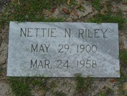 Nettie Donnie <i>King</i> Neely Riley