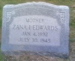 Zana Irene <i>Grove</i> Edwards
