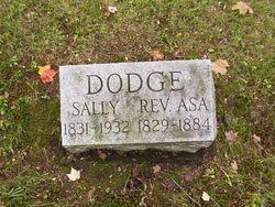 Rev Asa Dodge
