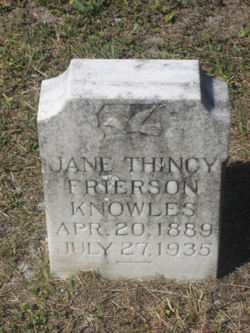 Jane Thincy <i>Frierson</i> Knowles