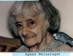Agnes Weissinger
