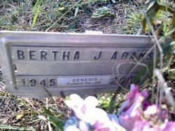 Bertha J. Adams
