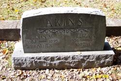 Eliza(beth) A <i>Echols</i> Akins