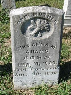 Anna M. <i>Bullus</i> Adams