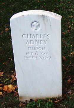 Pvt Charles Adney