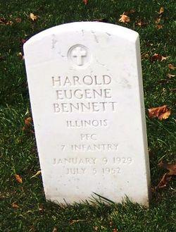 Pvt Harold Eugene Bennett