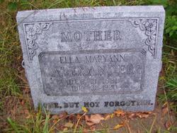 Ella Maryann <i>Coyle</i> Alexander