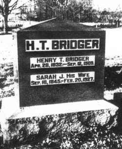 Henry Thomas Bridger