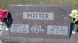 Cleo E <i>Baker</i> Potter