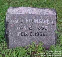 Eva Jane <i>McClanahan</i> Barnes Rounsavell