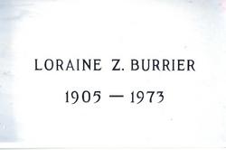 Loraine Zachriah Burrier