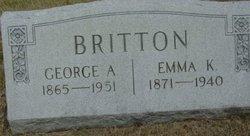 George A Britton