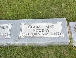 Clara Louise <i>King</i> Bowdry