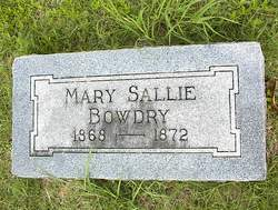 Mary Sallie Bowdry