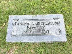 Paschall Jefferson Bowdry