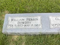 William Perrin Bowdry