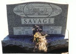Martha Virginia <i>Savage</i> Ruby
